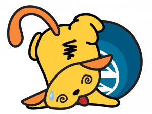 One of the many fantastic Wapuu image from the talk
