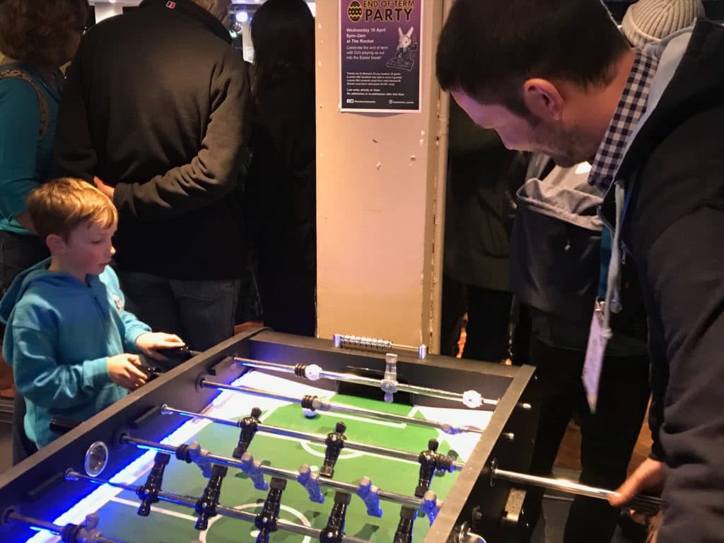 Table Football at WordCamp London